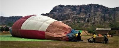 Hot Air Balloon Near Delhi NCR, Gurgaon At Camp Wild Dhauj