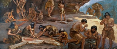 Palaeolithic Cave Paintings