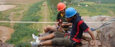 Adventure Activities at Camp Wild
