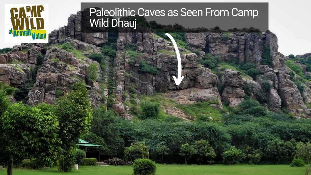 Paleolithic_Caves_Paintings_Near_Camp_Wild_Dhauj